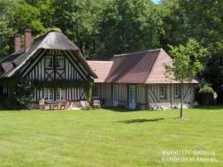 extension maison normande colombages reux