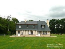 maison normande colombages saint etienne la thillaye