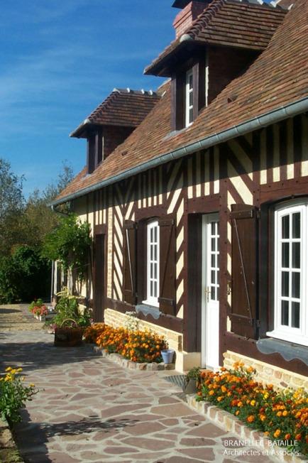eenovation maison normande colombage troarn