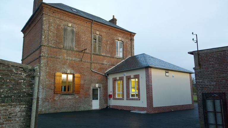 branellec bataille architecte extension accessibilite mairie bellou