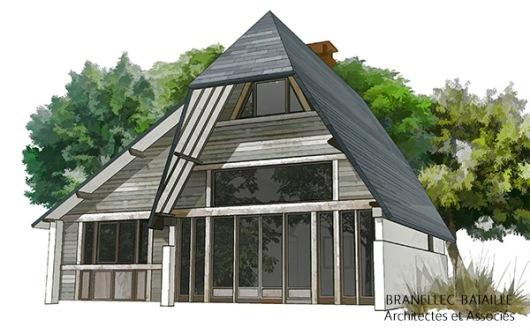 extension maison bois mont saint leger saint gatien bois