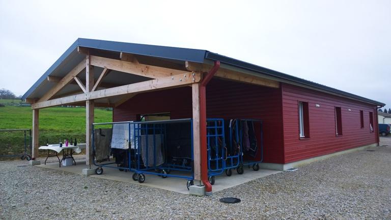 branellec bataille architecte batiment exploitation tertiaire livarot bardage bois
