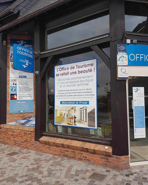 renovation office tourisme agencement trouville sur mer