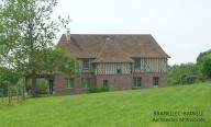 renovation maison briques colombages pays d'auge saint etienne thillaye