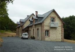 renovation maison briques pierres auberville