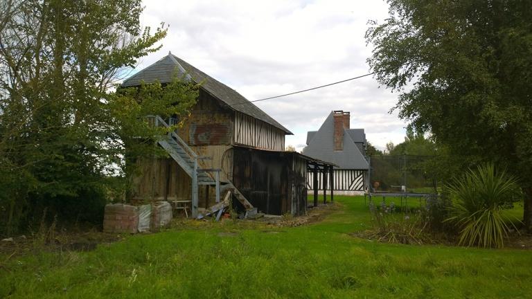 branellec bataille architecte maison renovation extension colombages saint simeon