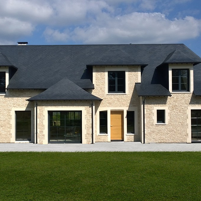 maison architecte pierres pays d'auge saint etienne thillaye