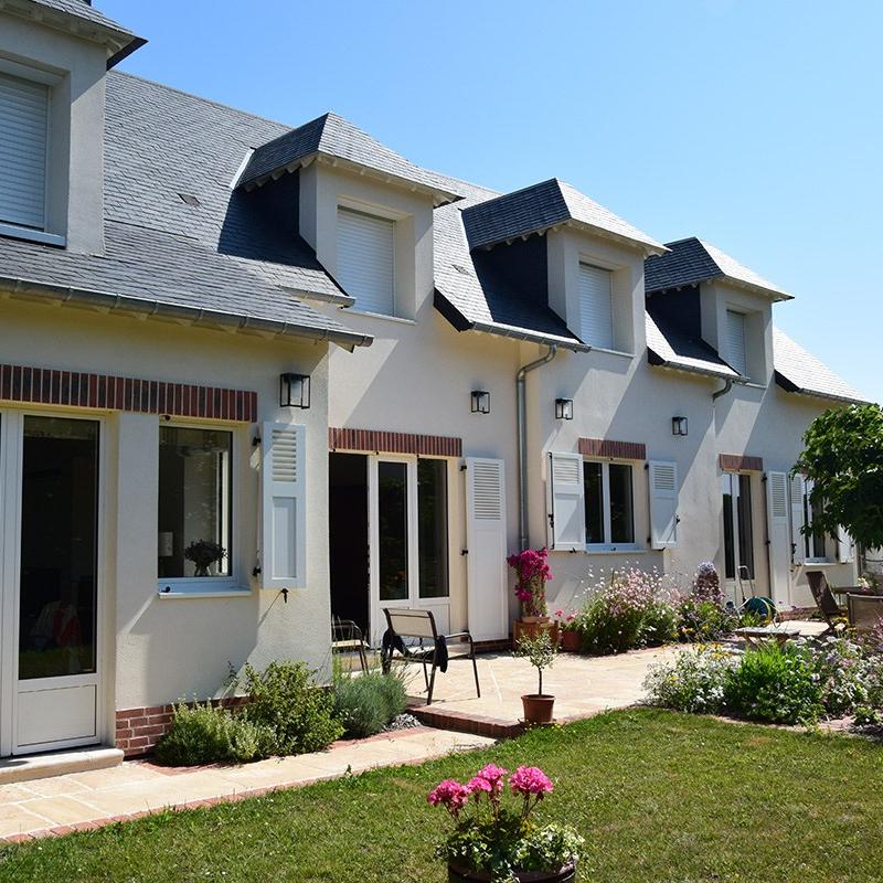 branellec bataille architecte surelevation renovation extension maison gonneville auge