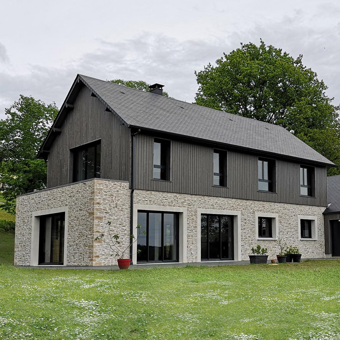 branellec bataille architecte maison vieux-bourg pierres bois ardoises