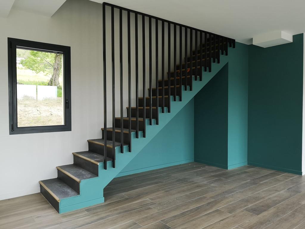 branellec bataille architecte maison vieux-bourg escalier